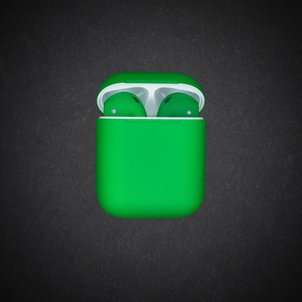 green airpods