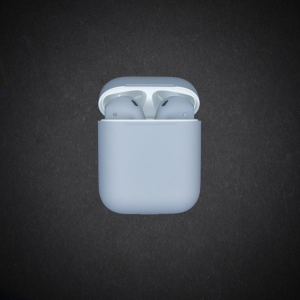 grey airpods