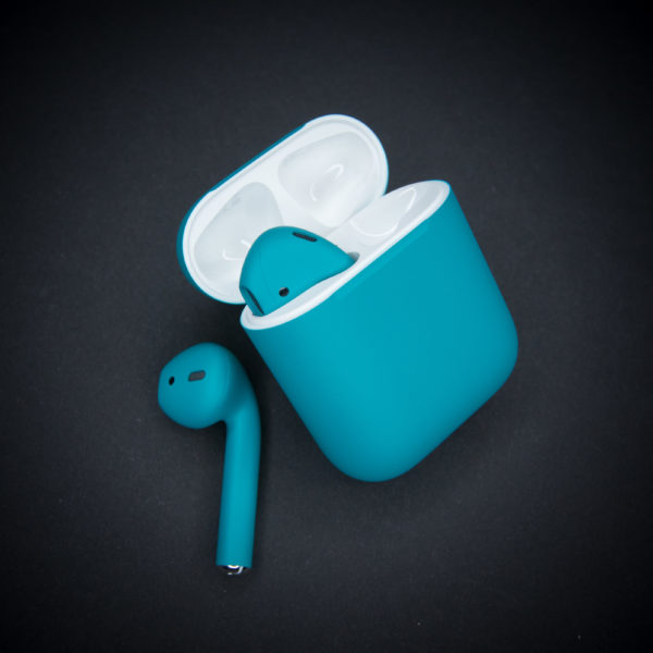 - AirPods 2 Бирюза матовый