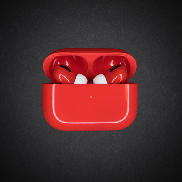 airpods pro red gloss