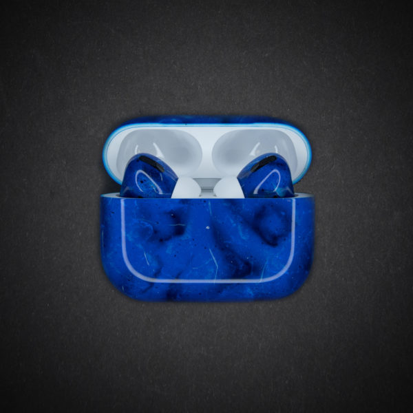 blue airpods pro